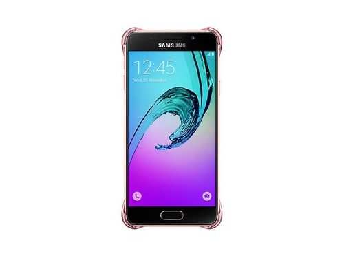 Чехол для смартфона Samsung для Samsung Galaxy A3 (2016) Clear Cover розовое золото, вид 5