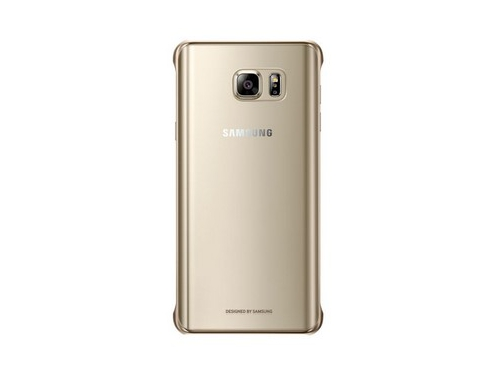 Чехол для смартфона Samsung для Samsung Galaxy Note 5 Clear Cover золотистый/прозрачный, вид 1
