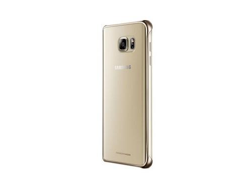 Чехол для смартфона Samsung для Samsung Galaxy Note 5 Clear Cover золотистый/прозрачный, вид 3
