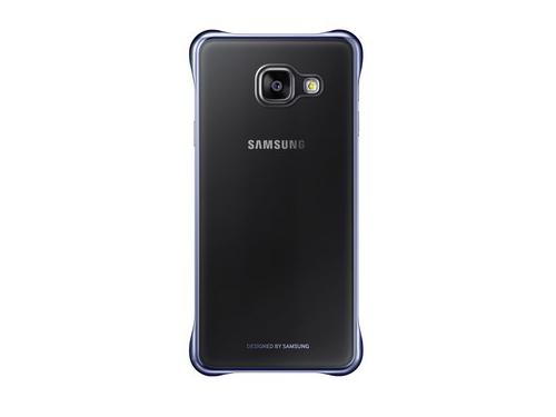 Чехол для смартфона Samsung для Samsung Galaxy A3 (2016) Clear Cover черный/прозрачный, вид 1