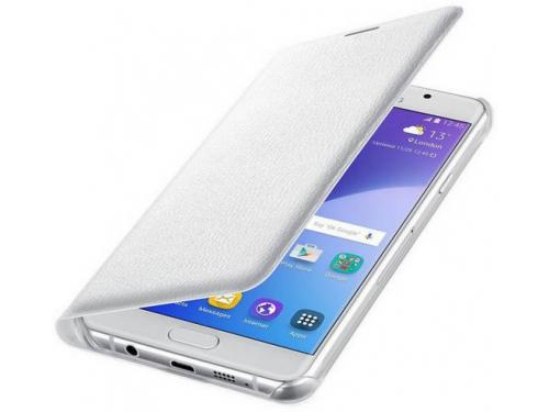 Чехол для смартфона Samsung для Samsung Galaxy A7 (2016) Flip Wallet белый, вид 1