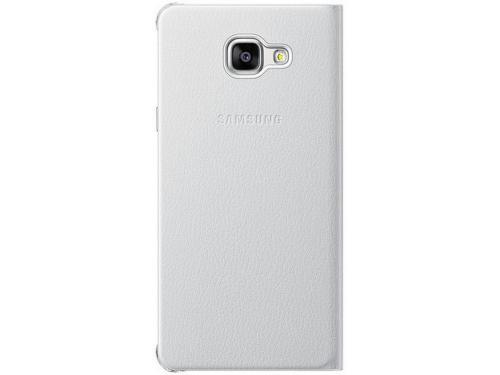 Чехол для смартфона Samsung для Samsung Galaxy A7 (2016) Flip Wallet белый, вид 4