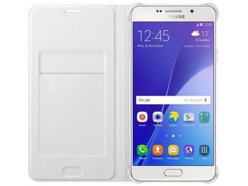 Чехол для смартфона Samsung для Samsung Galaxy A7 (2016) Flip Wallet белый, вид 3