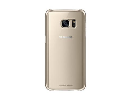 Чехол для смартфона Samsung для Samsung Galaxy S7 Clear Cover золотистый/прозрачный, вид 1