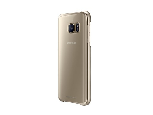 Чехол для смартфона Samsung для Samsung Galaxy S7 Clear Cover золотистый/прозрачный, вид 3