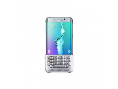Чехол-клавиатура Samsung для Samsung Galaxy S6 Edge Plus Keyboard Cover серебристый, вид 1