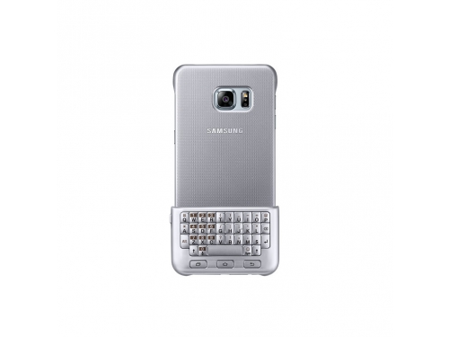 Чехол-клавиатура Samsung для Samsung Galaxy S6 Edge Plus Keyboard Cover серебристый, вид 3