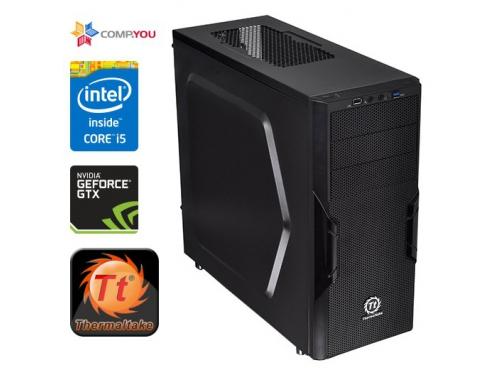 Системный блок Игровой компьютер CompYou Game G777 (Intel Core i5-4590 3.3GHz, 4Gb DDR3, 1000Gb, 120Gb SSD, DVD-RW, nVidia GeForce GTX 1050 Ti 4Gb, 500W, Без ОС) CY.603796.G777