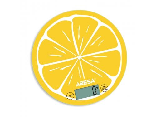 Весы кухонные Aresa SK-412 (лимон), вид 1