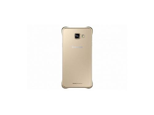 Чехол для смартфона Samsung для Samsung Galaxy A7 (2016) Clear Cover золотистый/прозрачный, вид 1