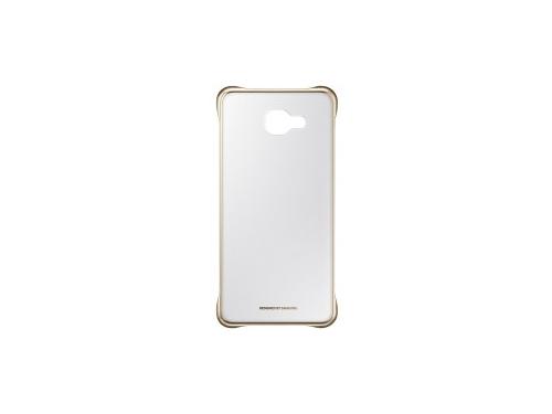 Чехол для смартфона Samsung для Samsung Galaxy A7 (2016) Clear Cover золотистый/прозрачный, вид 3