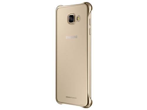 Чехол для смартфона Samsung для Samsung Galaxy A7 (2016) Clear Cover золотистый/прозрачный, вид 2