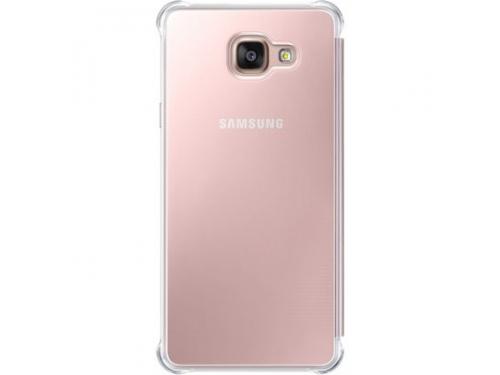Чехол для смартфона Samsung для Samsung Galaxy A7 (2016) Clear View Cover розовое золото, вид 3
