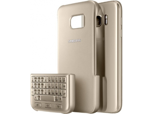 Чехол для смартфона Samsung для Samsung Galaxy S7 Keyboard Cover золотистый, вид 2