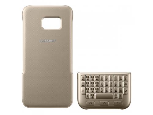 Чехол для смартфона Samsung для Samsung Galaxy S7 Keyboard Cover золотистый, вид 4