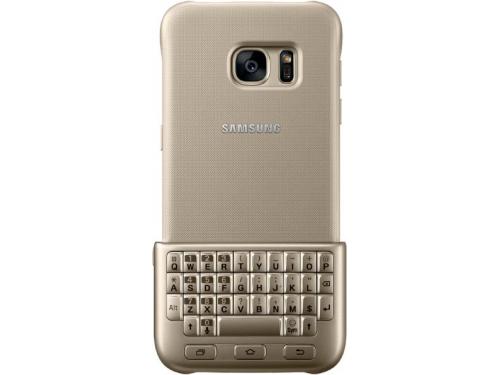 Чехол для смартфона Samsung для Samsung Galaxy S7 Keyboard Cover золотистый, вид 3