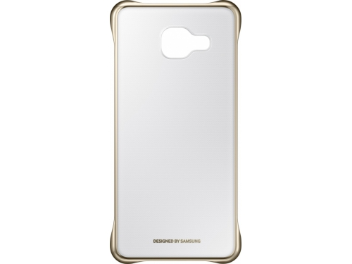 Чехол для смартфона Samsung для Samsung Galaxy A3 (2016) Clear Cover золотистый/прозрачный, вид 1