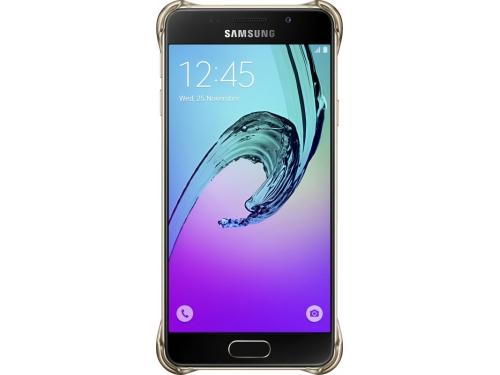 Чехол для смартфона Samsung для Samsung Galaxy A3 (2016) Clear Cover золотистый/прозрачный, вид 4