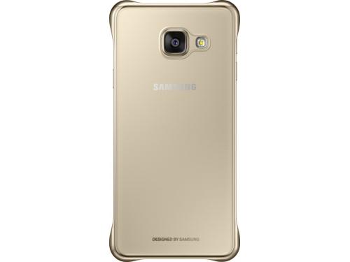 Чехол для смартфона Samsung для Samsung Galaxy A3 (2016) Clear Cover золотистый/прозрачный, вид 2