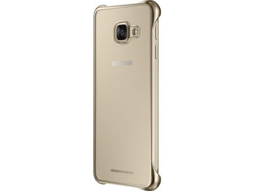 Чехол для смартфона Samsung для Samsung Galaxy A3 (2016) Clear Cover золотистый/прозрачный, вид 3