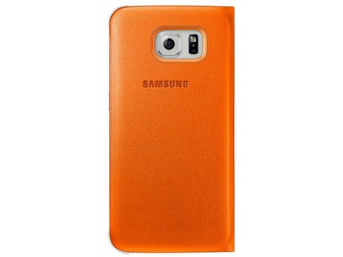 Чехол для смартфона Samsung для Samsung Galaxy S6 S View Cover оранжевый, вид 4