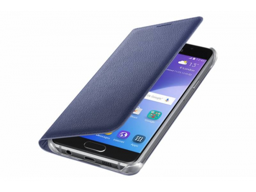 Чехол для смартфона Samsung для Samsung Galaxy A3 (2016) Flip Wallet черный, вид 3