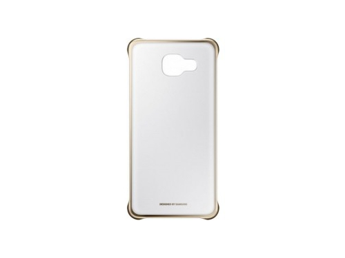 Чехол для смартфона Samsung для Samsung Galaxy A5 (2016) Clear Cover золотистый/прозрачный, вид 1