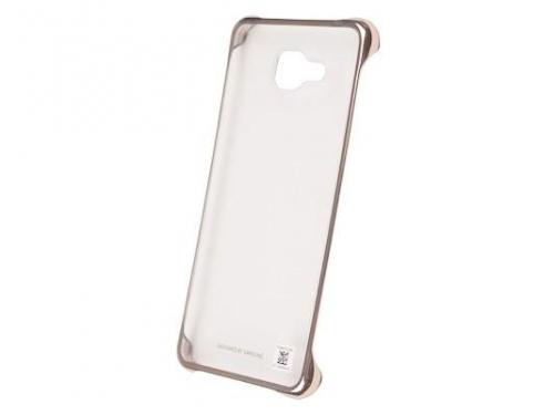 Чехол для смартфона Samsung для Samsung Galaxy A5 (2016) Clear Cover золотистый/прозрачный, вид 4