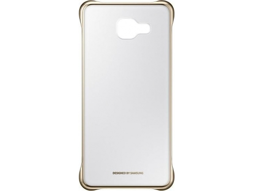 Чехол для смартфона Samsung для Samsung Galaxy A5 (2016) Clear Cover золотистый/прозрачный, вид 2