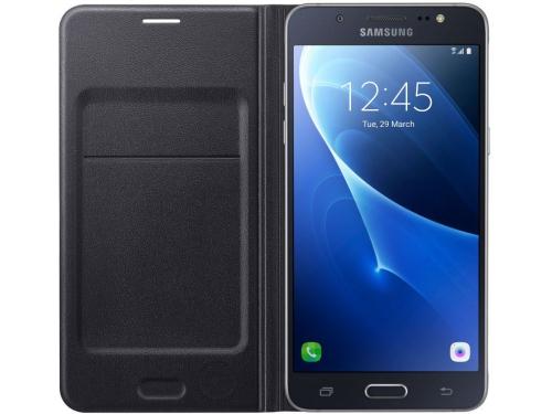 Чехол для смартфона Samsung для Samsung Galaxy J7 (2016) Flip Wallet черный, вид 1