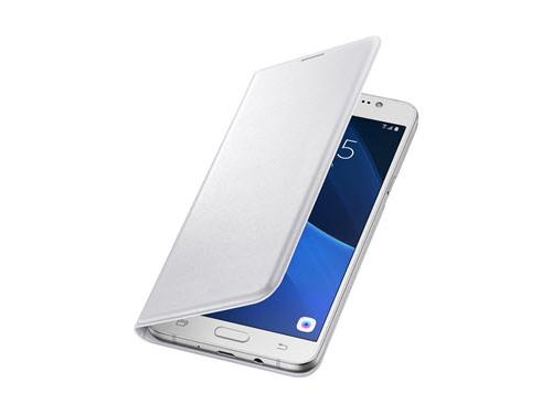 Чехол для смартфона Samsung для Samsung Galaxy J7 (2016) Flip Wallet белый, вид 1