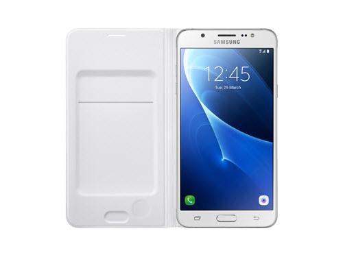 Чехол для смартфона Samsung для Samsung Galaxy J7 (2016) Flip Wallet белый, вид 4