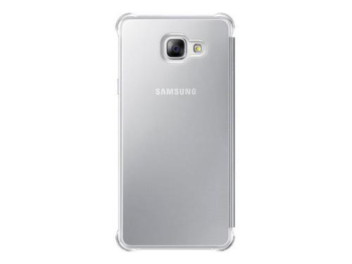 Чехол для смартфона Samsung для Samsung Galaxy A7 (2016) Clear View Cover серебристый, вид 1