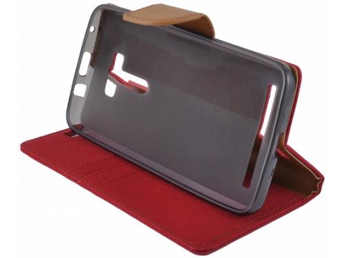 Чехол для смартфона SkinBOX MS для ASUS ZenFone 2 Selfie ZD55KL красный, вид 3