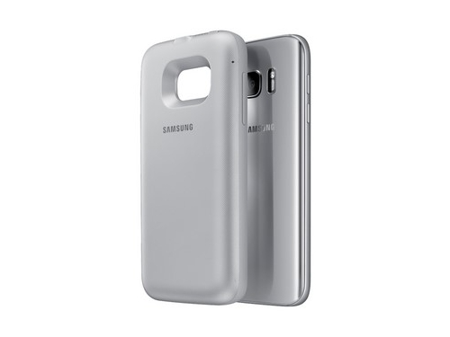 Чехол-аккумулятор Samsung для Samsung Galaxy S7 серебристый, вид 2