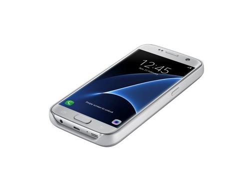 Чехол-аккумулятор Samsung для Samsung Galaxy S7 серебристый, вид 3