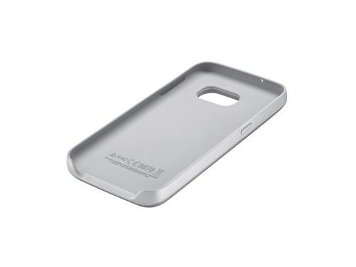 Чехол-аккумулятор Samsung для Samsung Galaxy S7 серебристый, вид 4