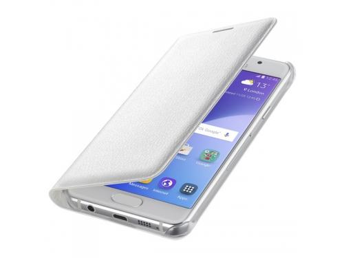 Чехол для смартфона Samsung для Samsung Galaxy A3 (2016) Flip Wallet белый, вид 1