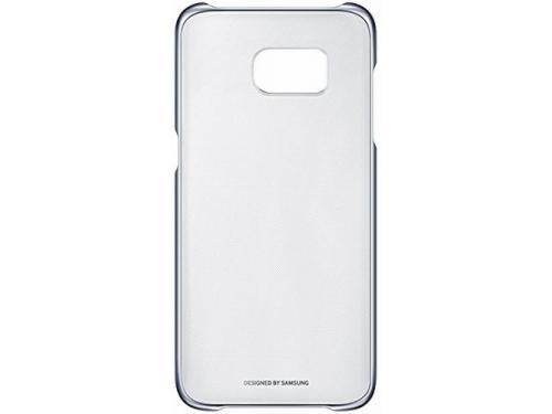 Чехол для смартфона Samsung для Samsung Galaxy S7 edge Clear Cover, черный/прозрачный, вид 2