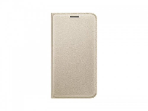 Чехол для смартфона Samsung для Samsung Galaxy J1 mini Flip Cover, золотистый, вид 1