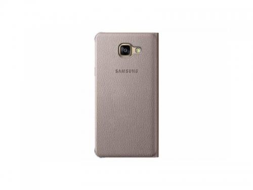 Чехол для смартфона Samsung для Samsung Galaxy A5 (2016) Flip Wallet, золотистый, вид 2