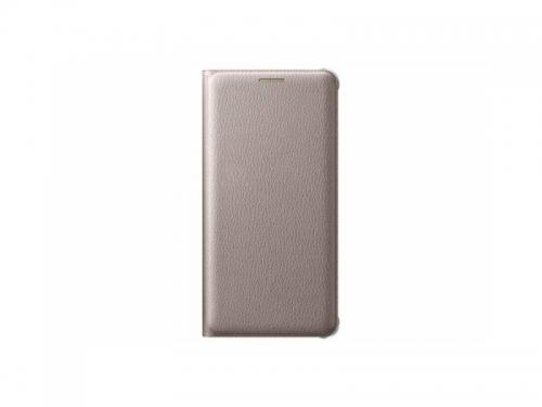 Чехол для смартфона Samsung для Samsung Galaxy A5 (2016) Flip Wallet, золотистый, вид 3