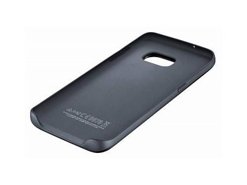 Чехол-аккумулятор Samsung для Samsung Galaxy S7 edge Backpack серебристый, вид 2