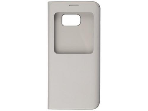 Чехол для смартфона Samsung для Samsung Galaxy S7 edge S View Cover серебристый, вид 3