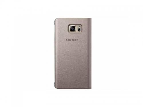 Чехол для смартфона Samsung для Samsung Galaxy Note 5 S View, золотистый, вид 3