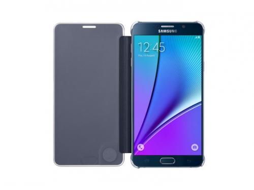 Чехол для смартфона Samsung для Samsung Galaxy Note 5 Clear View Cover черный/прозрачный, вид 2
