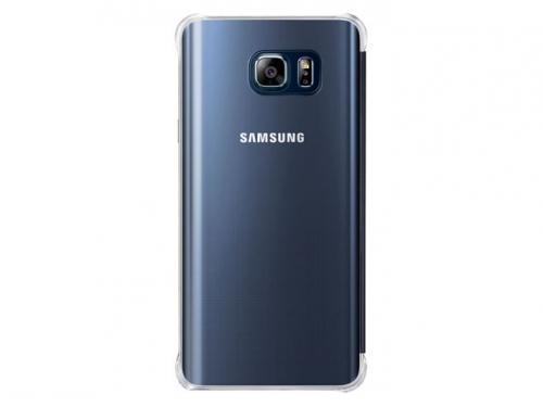 Чехол для смартфона Samsung для Samsung Galaxy Note 5 Clear View Cover черный/прозрачный, вид 3