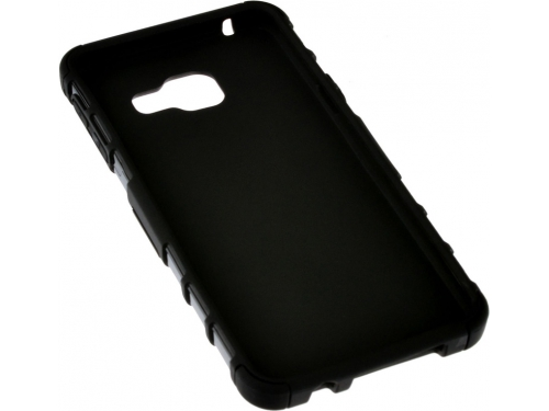 Чехол для смартфона SkinBox Defender case для Samsung Galaxy A3 (2016) чёрный, вид 3
