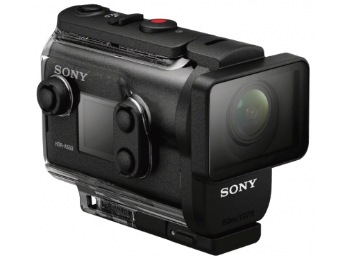 Видеокамера Sony HDR-AS50R, чёрная, вид 14