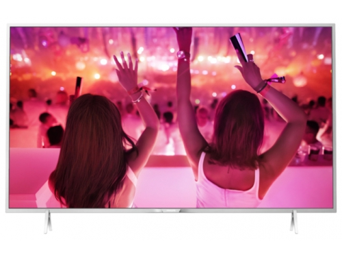 телевизор Philips 49PFT5501/60, серебристый, вид 1